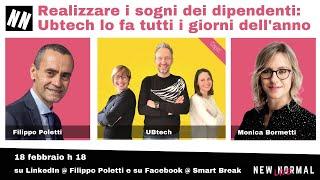 Ubtech di Vicenza a New Normal Live condotto da Filippo Poletti e Monica Bormetti