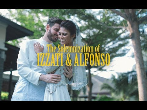 (SDE) The Solemnization of Izzati & Alfonso by KAIO STUDIO // Malaysia Wedding Videographer 2017