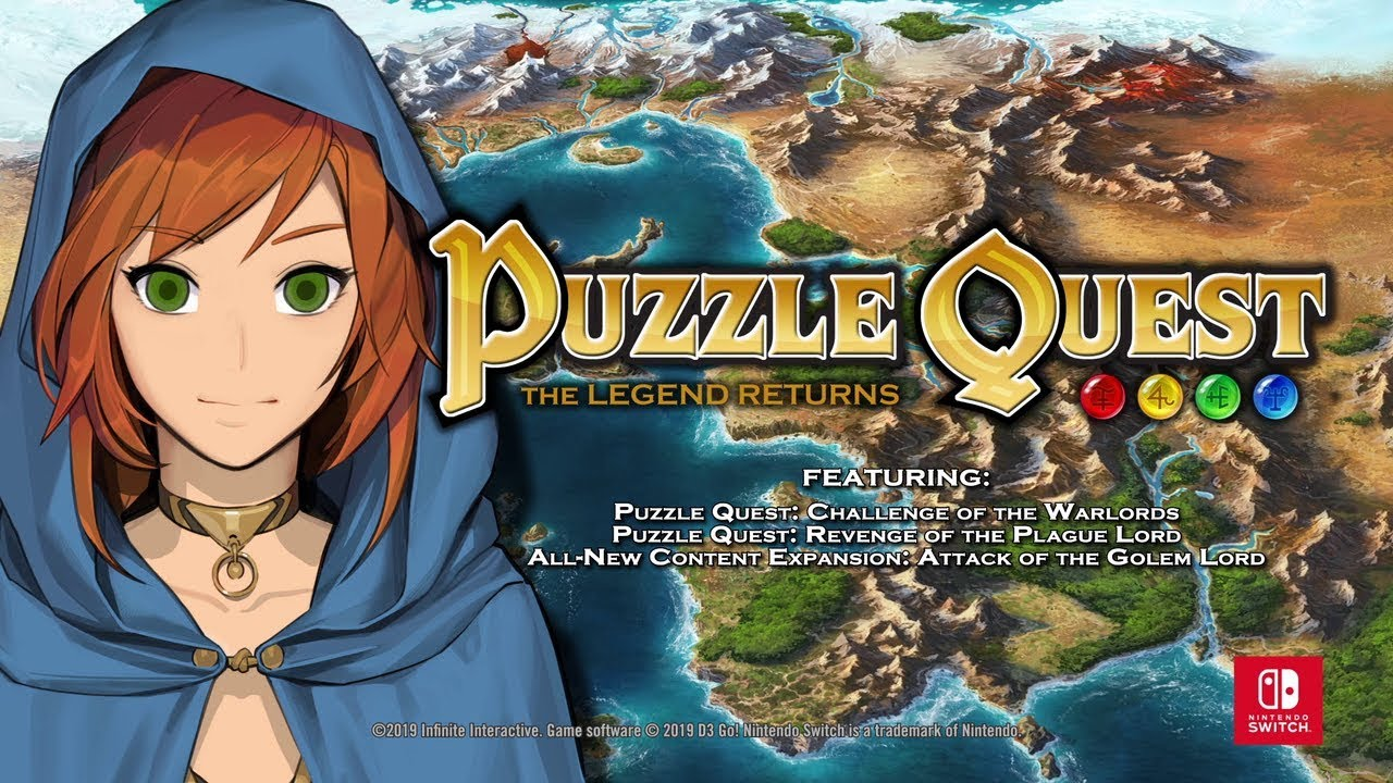 Puzzle Quest Creator On Remastering A Classic For Nintendo