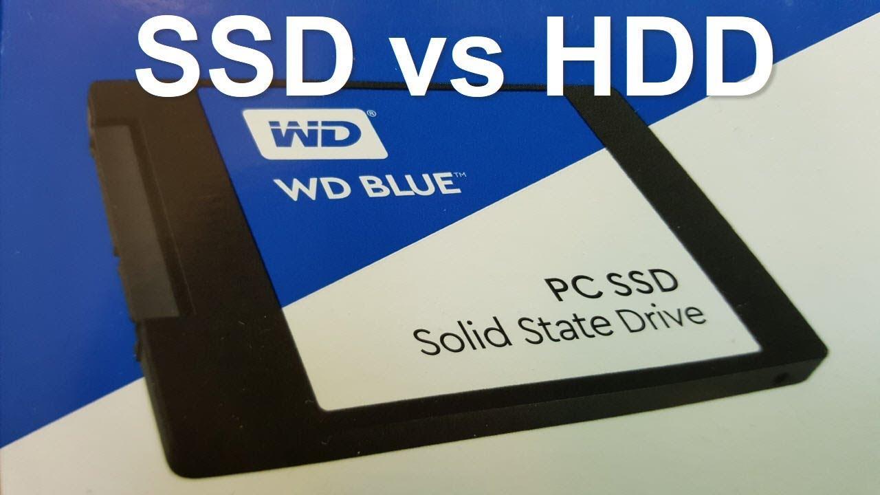 WD Blue SSD setup Windows 10 with SSD SPEED Test - Fast SSD vs HDD