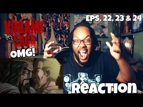 LUCIUS AMONG ALL! VINLAND SAGA EPISODES 22, 23 & 24 REACTION