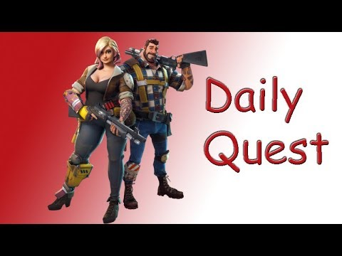 Fortnite - Save The World - Daily Quest ( Scouting Industrial Construction ) PS4