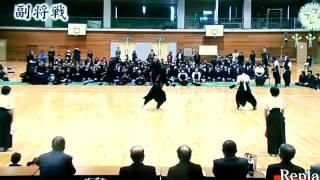 薙刀は、足のすねまで攻撃範囲となっているが、剣道は基本的には上半身...