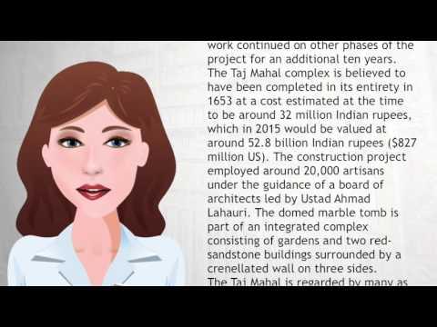 Taj Mahal - Wiki Videos