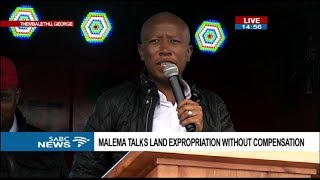 EFF holds a rally on land expropriation without compensarion