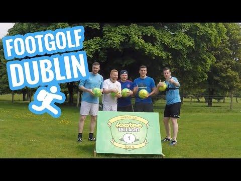 Visiting Footee - Footgolf in Dublin, Ireland