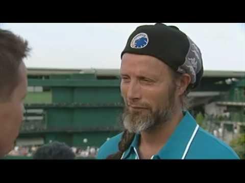 Mads Mikkelsen at Wimbledon