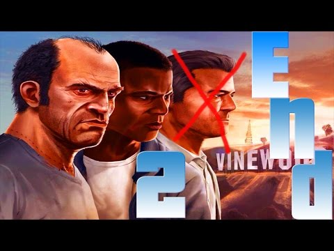 Grand Theft Auto V - ENDING 2 - (Tracy Going To College!)