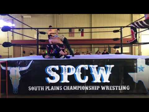 South Plains Champion Wrestling- Aron Crash and JP Nitro vs K9 Alexander Jacobs and Justin Guerra