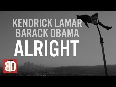 Barack Obama Singing Alright by Kendrick Lamar