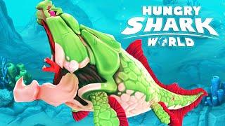 BIG MOMMA DUNKLEOSTEUS MAX LEVEL - Hungry Shark World - Biggest Shark