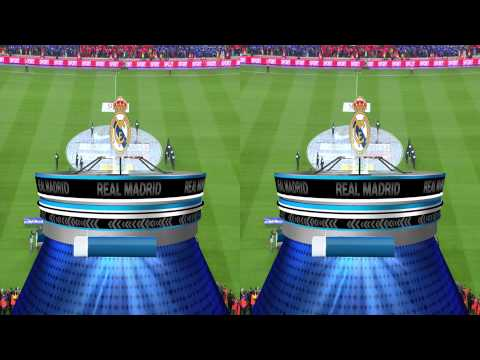 3D FC Barcelona vs Real Madrid