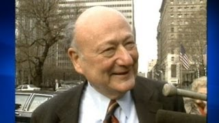 Ed Koch Dead: Former New York City Mayor Edward I. Koch Was 88
