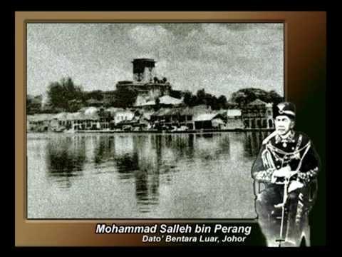 Permata Johor - Mohammad Salleh bin Perang Dato' Bentara Luar Johor