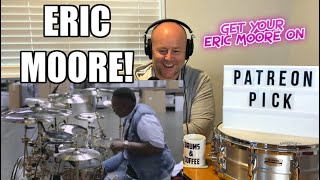 Drum Teacher Reacts: ERIC MOORE | Aquarian Reflector Series  Get your Eric Moore On (2020 Reaction)
