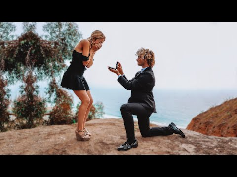 PROPOSING TO MY GIRLFRIEND AT 18 YEARS OLD **NOT CLICKBAIT**