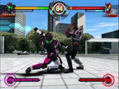 Kamen Rider Climax Heroes Decade Vs Kiva Youtube