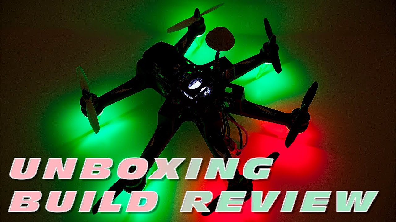 Spedix S250AH ARTF Racing Hexacopter ! - Unboxing + Build Review