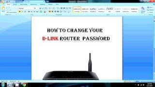how to change your d link router password in hindi d link router ka password kaise badle change kare