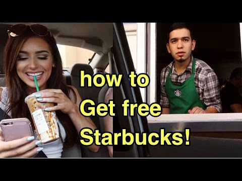 HOW TO GET FREE STARBUCKS (NOT clickbait)