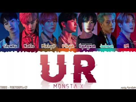 MONSTA X (몬스타엑스) - 'U R' Lyrics [Color Coded_Han_Rom_Eng]
