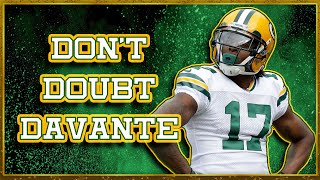 How Davante Adams Rose Above His Doubters to Become an Elite Wide Receiver