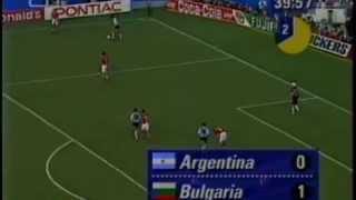 Футбол Аржентина - България 1994 - Второ полувреме