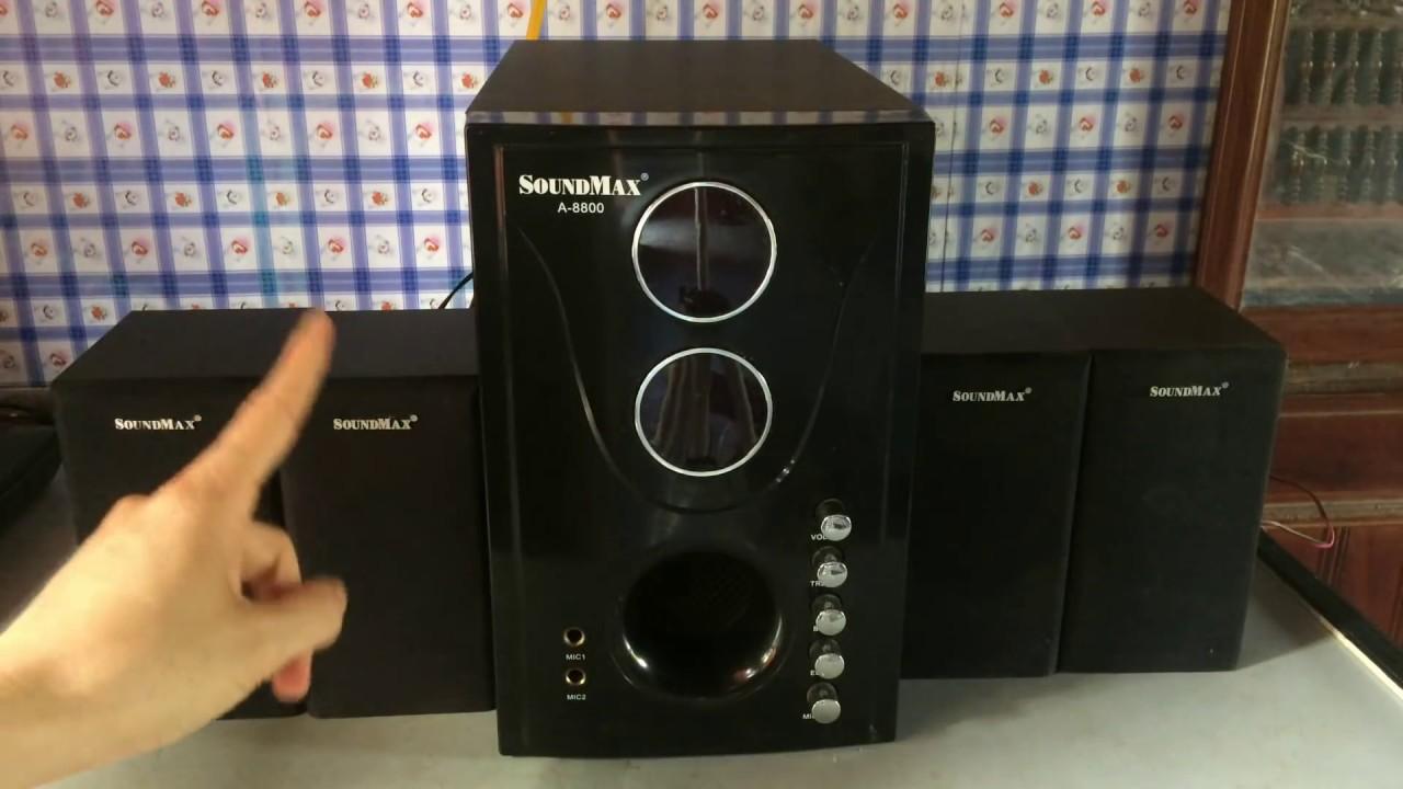 Tìm hiểu và đánh giá loa vi tính hát karraoke SoundMax A8800( LH: 0986.240.269)