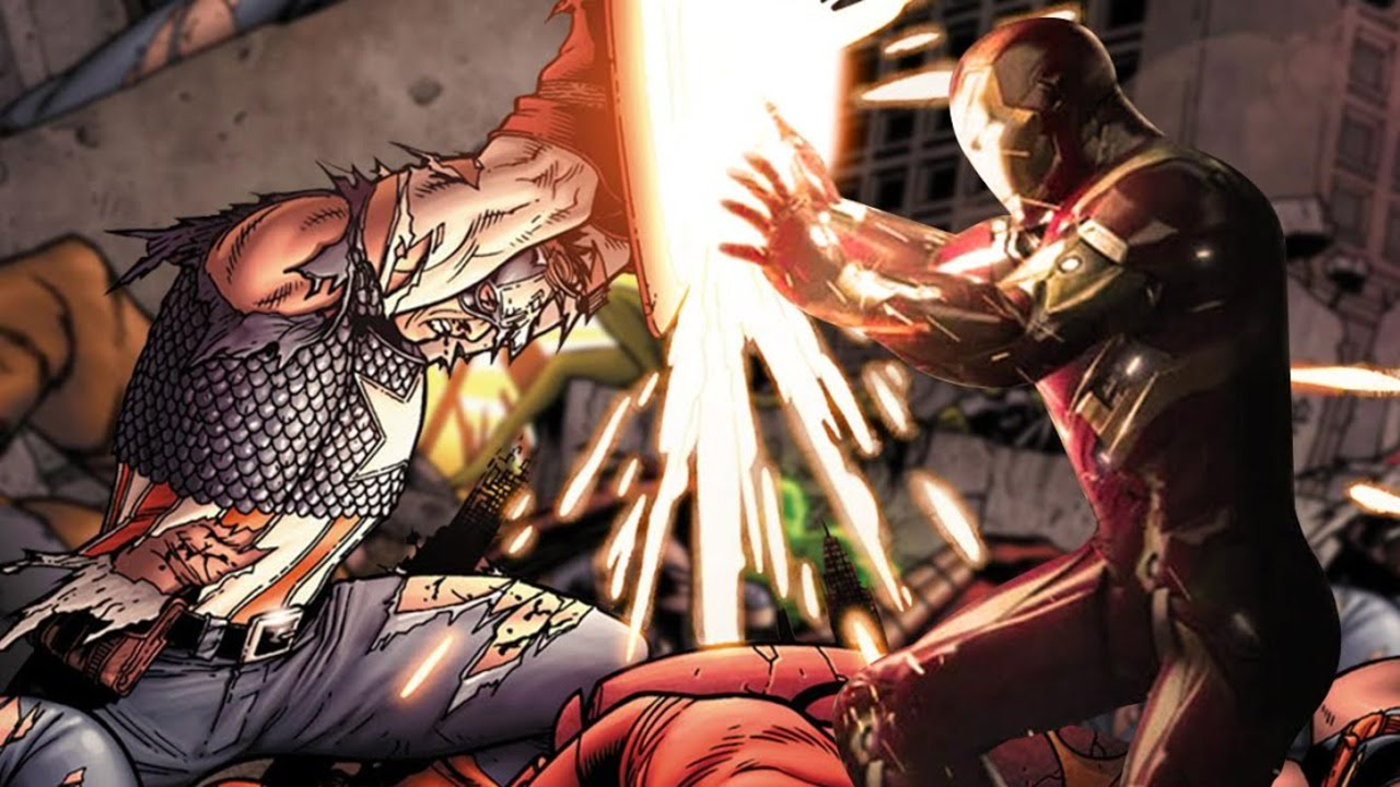 13 biggest captain america civil war movie comic