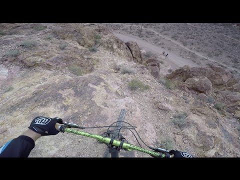 Bootleg Canyon DH - Elevator Shaft to Hourglass 12/5/15