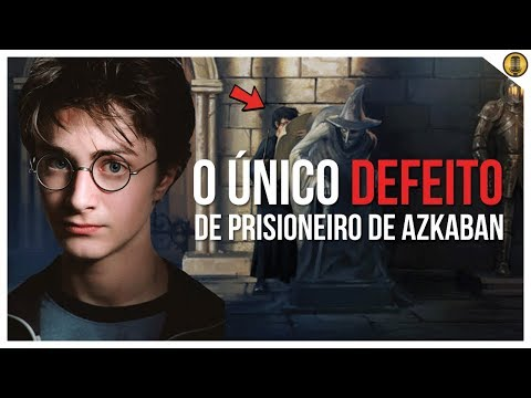 ÚNICO DEFEITO DO FILME HARRY POTTER E O PRISIONEIRO DE AZKABAN