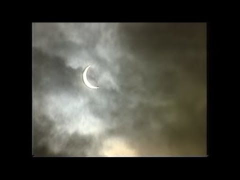 BBC News on the 11th August 1999 solar eclipse