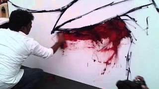 Raj More - GoodHomes Magazine India ( Live Impromptu Painting )