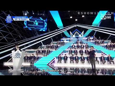 LEE DONG WOOK Plays With PRODUCE X 101 TRAINEES (ORANGE GAME) (ENG. SUBS, HD)