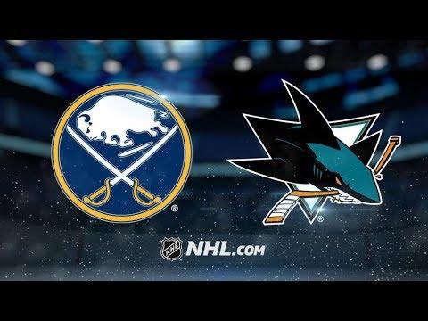 Buffalo Sabres Vs. San Jose Sharks | NHL Game Recap | October 12, 2017 | HD