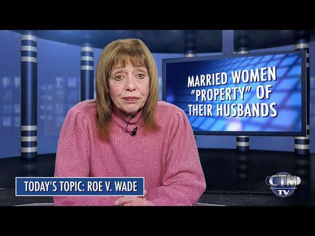 The Facts with Rosalyn Tavanis: Episode 1 – Roe vs.  Wade