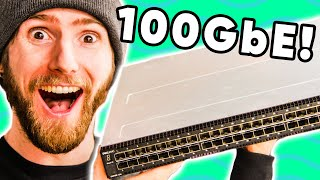 A $15,000 Network Switch?? - HOLY $H!T - 100GbE Networking