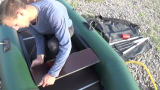 Обзор надувной лодки ТАЙГА т 270