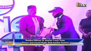 Maiden Edition Of Atarlor Crack team Dinner And Award Night Held Amidst Funfare