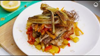 Market Cooking: Pork Chops And Vegetables By The Fat Kid Inside In Tagaytay