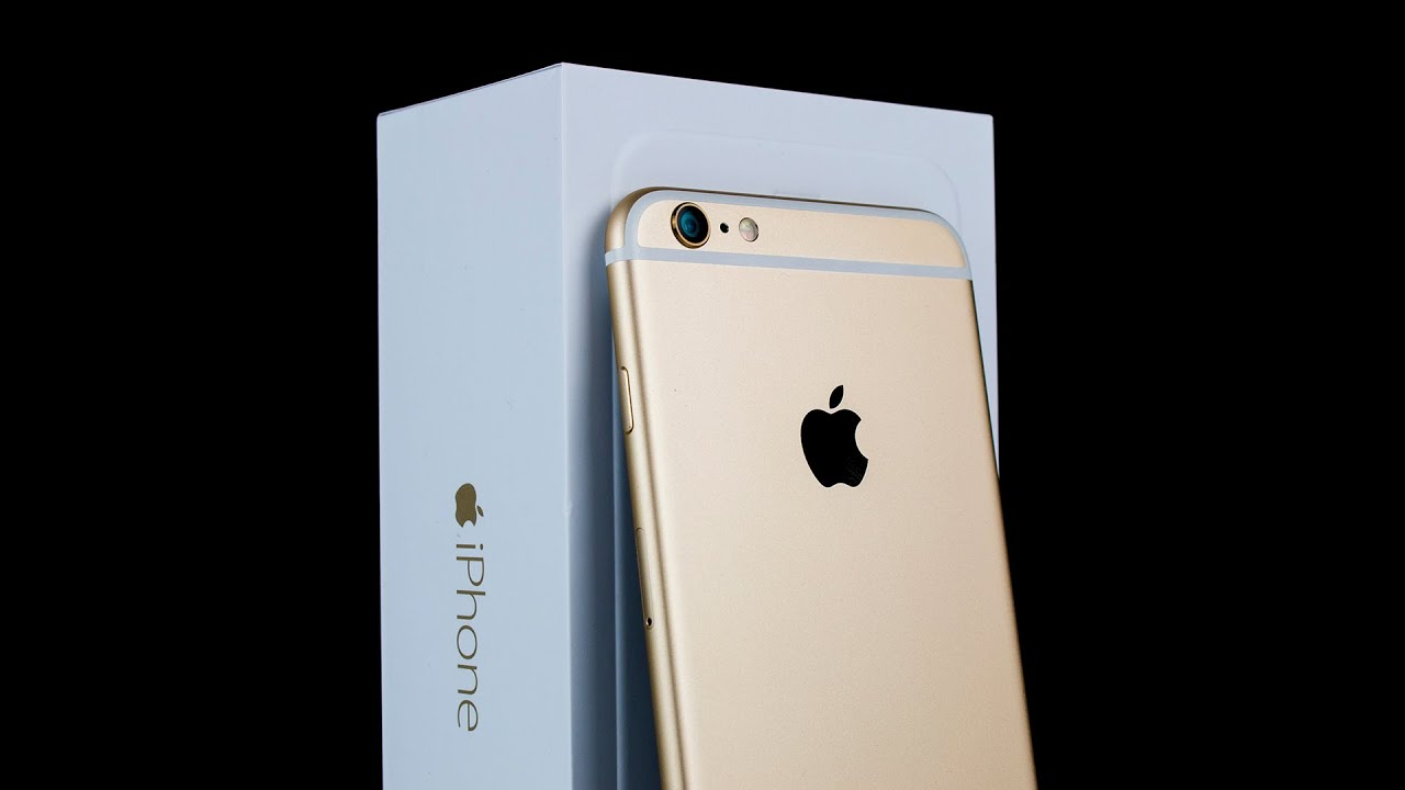iphone 6 plus gold unboxing first impressions youtube - Colors For Iphone 6 Plus