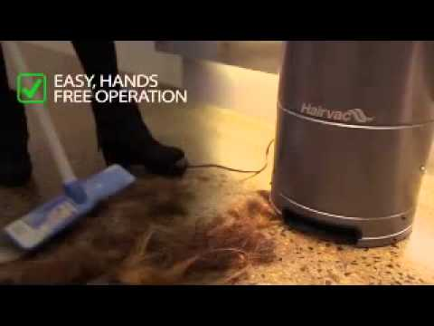 Hairvac Salon And Barbershop Vacuum For Cleaning Hair