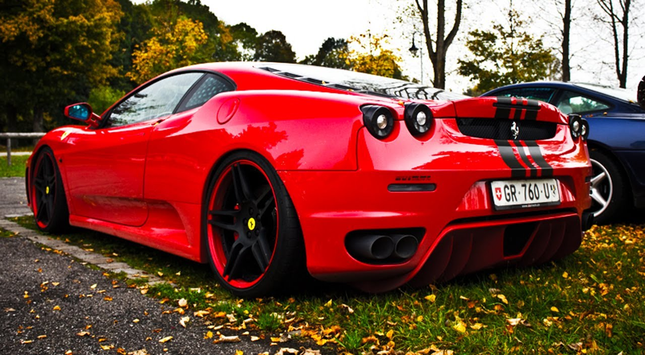 Alfa Romeo 8C >> Novitec Rosso Ferrari F430 Sound *FHD* - YouTube