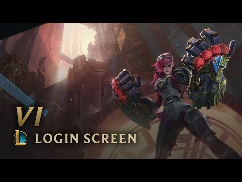 Vi, the Piltover Enforcer (ft. Nicki Taylor) | Login Screen - League of Legends