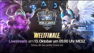 [DE] SWC2018 WELTFINALE @Seoul |Summoners War |서머너즈워