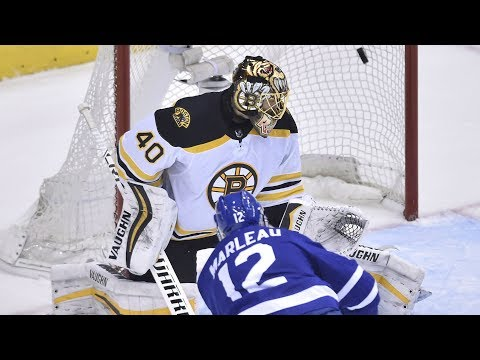 Marleau scores twice as Maple Leafs beat Bruins