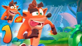 Crash Bandicoot Mobile - Gameplay (Android, IOS) Parte 1 SOLDIERDIEGO