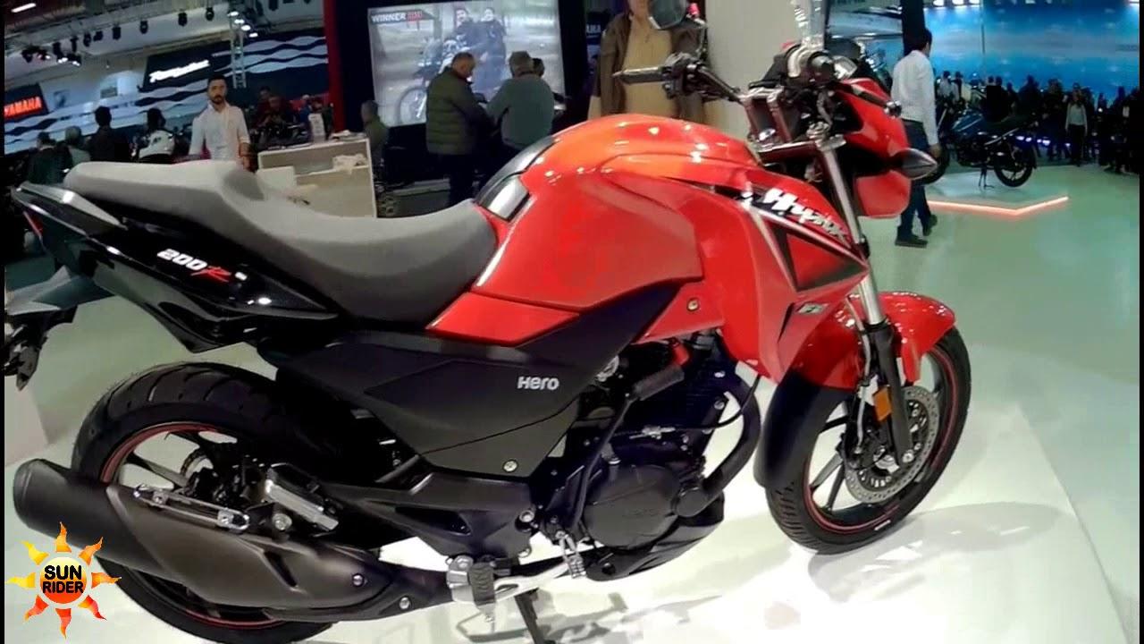 Hero Hunk 200r Sun Rider Youtube