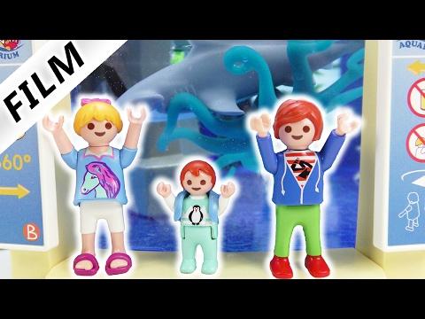 Playmobil Film Deutsch - FAMILIE VOGEL IM MEERESAQUARIUM! HAT JULIAN HAUSVERBOT? Serie Familie Vogel