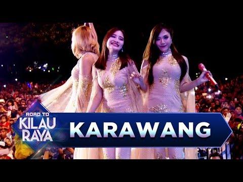 Jadi Pengen Goyang! Trio Macan [EDAN TURUN] - Road To Kilau Raya (18/3)